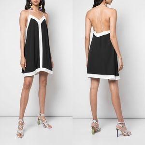 NEW ALICE+OLIVIA Black & White Alexia SWING DRESS